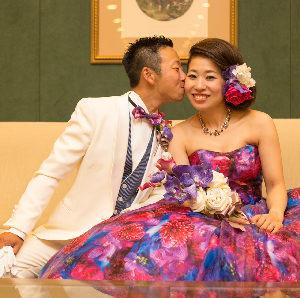 青山様ご夫妻 2016年7月30日-名古屋観光ホテルでオリジナルウェディング-