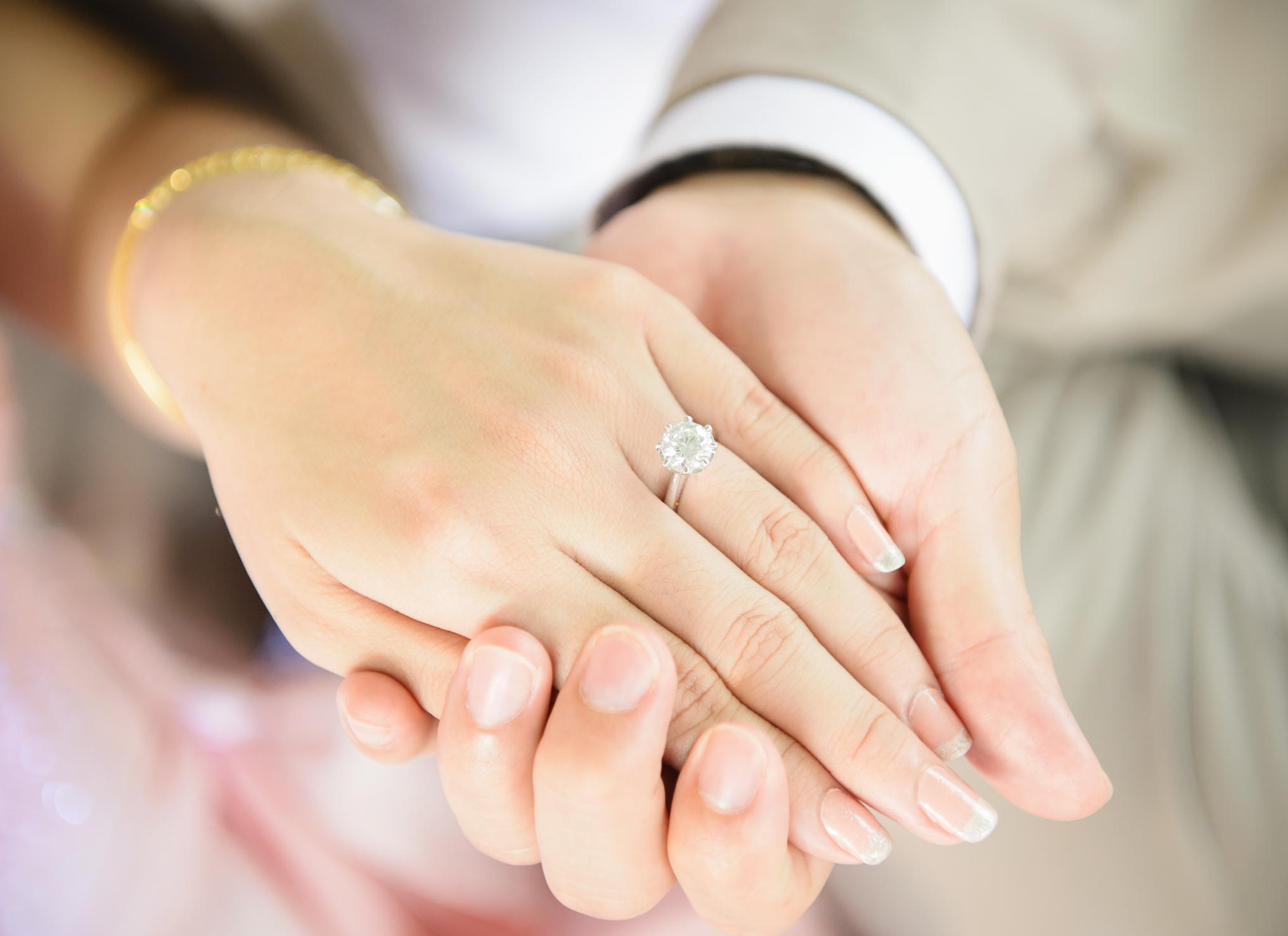婚約指輪 永久保証
