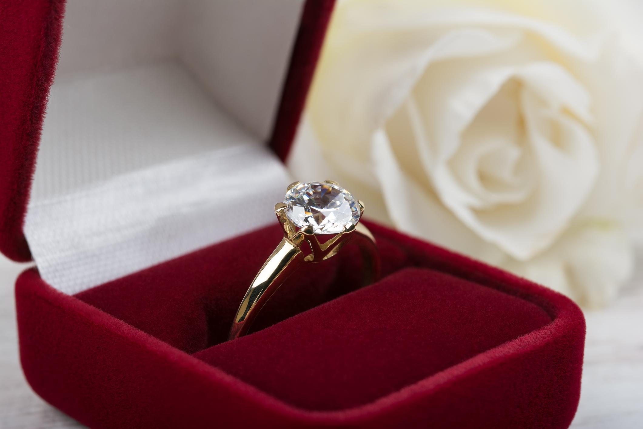 婚約指輪 クリーニング