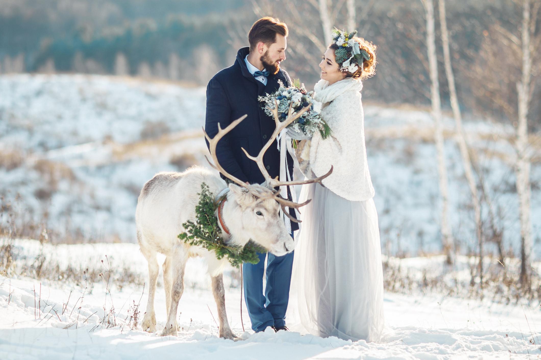 結婚式は冬と夏が安くなる