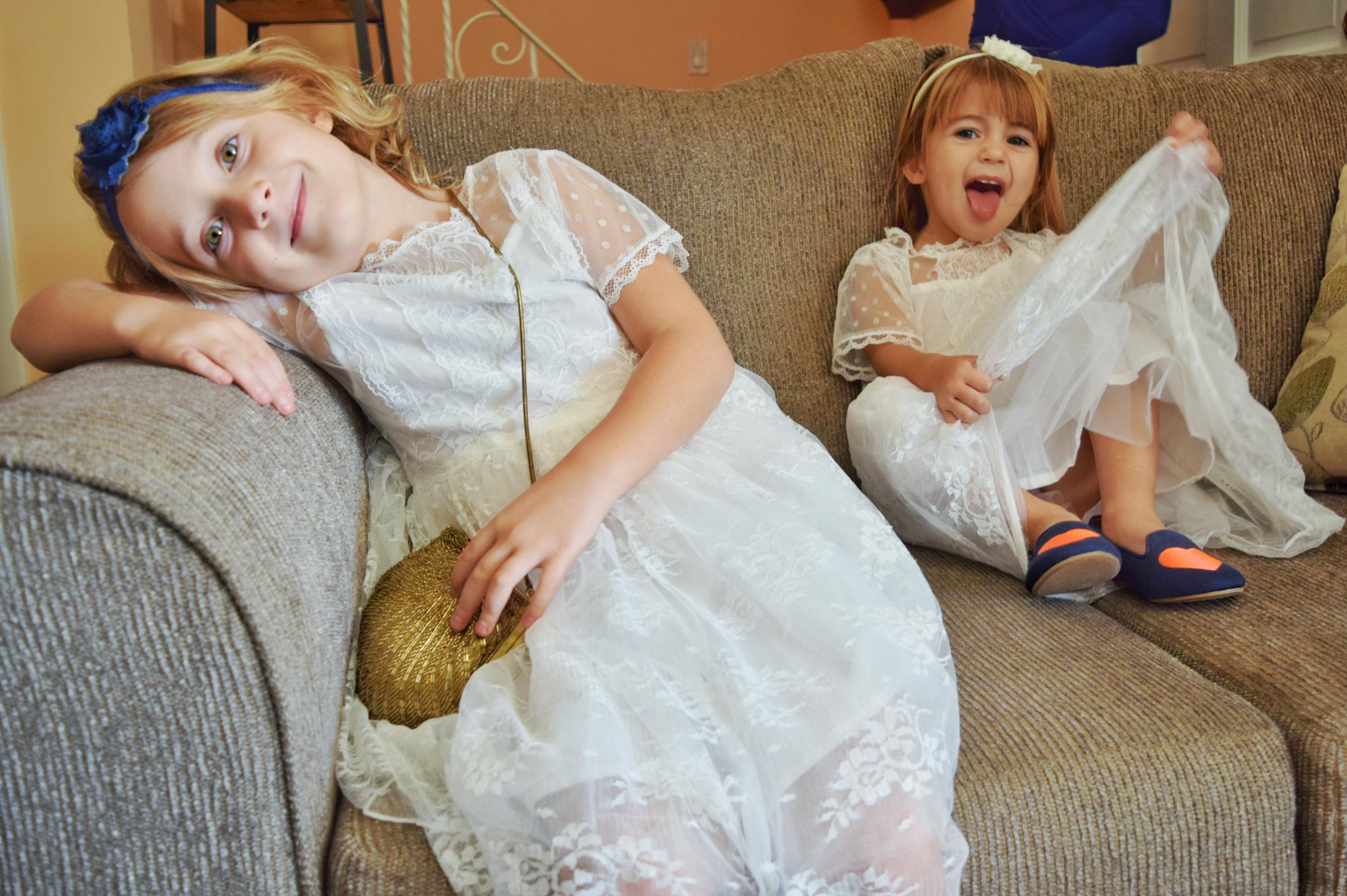 幼児 結婚式 出席